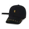 STIGMA DOLLAR BASEBALL CAP BLACK