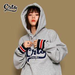 [코로츠] CRTS Stripe Banding Hoodie (Gray)
