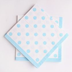 라인도트 파티냅킨 - 블루(20매)