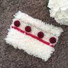 raspberry clutch