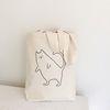 sleeping cat bag (아이보리)