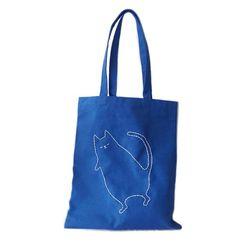 sleeping cat bag (블루)