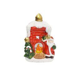 벽난로 산타 촛대