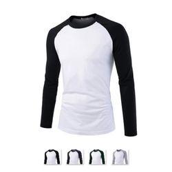 남성 라운드 나그랑 긴팔 티셔츠 CAL71