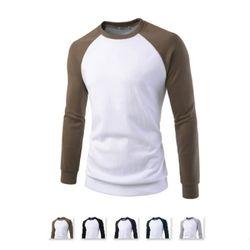 남성 라운드 나그랑 긴팔 맨투맨 티셔츠 CAL69