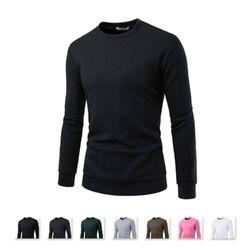 남성 베이직 라운드 맨투맨 티셔츠 CAL68