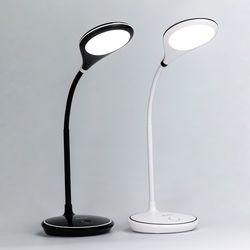 충전식 무선 LED스탠드 색상+밝기조절 각도조절