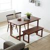 라움 4인 테이블 세트 1400 (테이블+벤치)