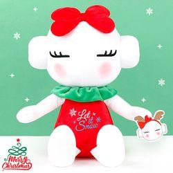 또로와로로 성탄 봉제인형-크리스마스 자수(로로45cm)