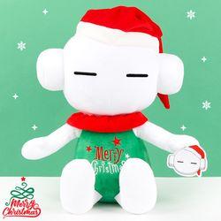 또로와로로 성탄 봉제인형-크리스마스 자수(또로45cm)