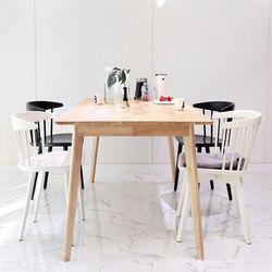 원목 러버 식탁 테이블 베이직180