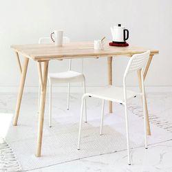 원목 라인 테이블120