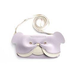 Ji Won Bulldog Mini Bag Lilac