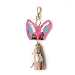 Sand Fox Keyring Pink