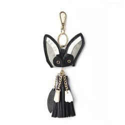 Sand Fox Keyring Black