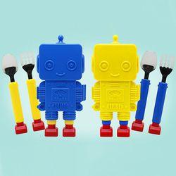 플렉사 로봇 스푼 포크 세트 (2color)