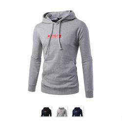 남성 패치포인트 후드 긴팔 티셔츠 RDLT70