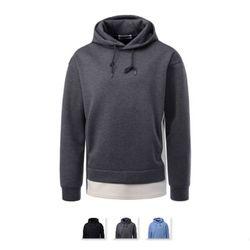남성 네오프렌 레이어드 후드 티셔츠 DMLS21