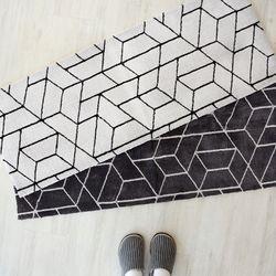 패턴 주방거실 발매트L