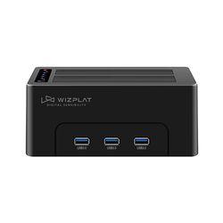 위즈플랫 USB3.0 2베이 하드 도킹스테이션 WIZ-3082H