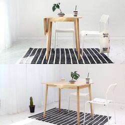 원목 라운디시 슬라이딩 테이블 소
