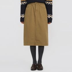 cathy A-line midi skirt