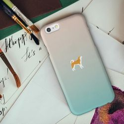 [아이폰6] 아키타견 민트로즈 H3050A 하드 케이스