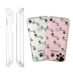 LG V30(LGM-V300) 풀커버 젤리케이스-Dalmatians
