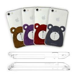 아이폰6s 풀커버 젤리케이스-Bear