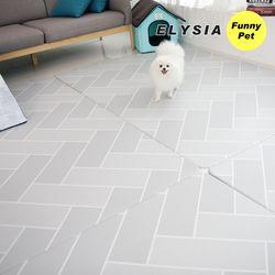 엘리시아 애견매트 강아지매트 헤이미쉬 XL