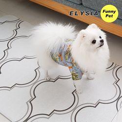 엘리시아 애견매트 강아지매트 블루밍(대)