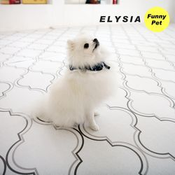 엘리시아 애견매트 강아지매트 블루밍 XL