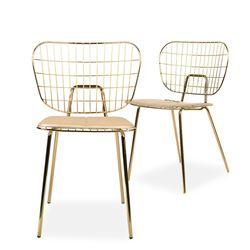 martha gold chair(마샤 골드 체어)
