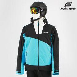 [펠리체] 아론 스키보드복 자켓 아쿠아 블랙 남여공용