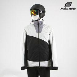 [펠리체] 아론 스키보드복 자켓 블랙 화이트 남여공용