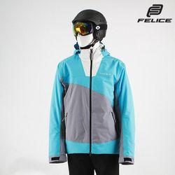 [펠리체] 아론 스키보드복 자켓 그레이 아쿠아 공용