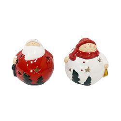 호롱 산타와 눈사람 촛대