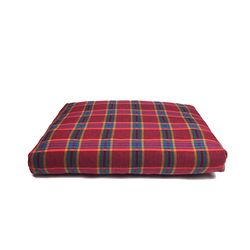Relaxing Cushion - Dark Red Check