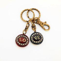 [세트] LOVE (커플) 로켓키링 (열쇠고리)