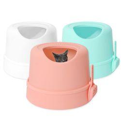 펫디아 고양이 숨숨 화장실  후드형 대형 화장실