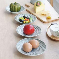 일본산 아케미 깊은 접시 4P세트 소