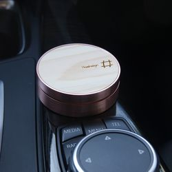 차량용 방향제 - 로즈골드