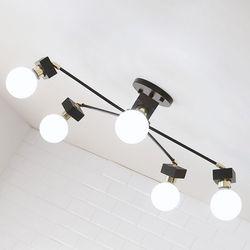 [LED] 미숑5등 직부등-라운드형