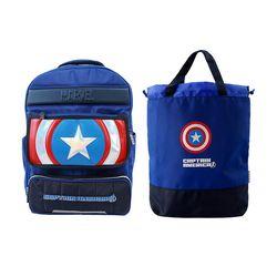 캡틴 아메리카 드림 책가방세트 (책가방보조가방)