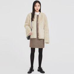 poodle fur jacket