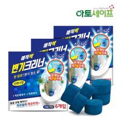 매직싹 변기세정제 150g 6개입(3세트)청크린크리너
