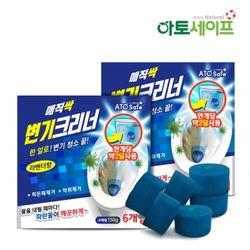 매직싹 변기세정제 150g 6개입(2세트)청크린크리너