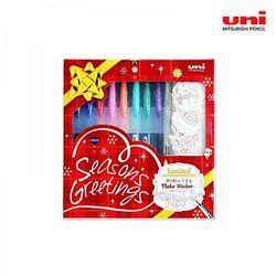 미쯔비시 유니 시그노 UM151 크리스마스 한정판 세트