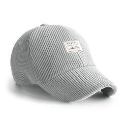 BASIC CODU CAP GREY 코듀로이 볼캡