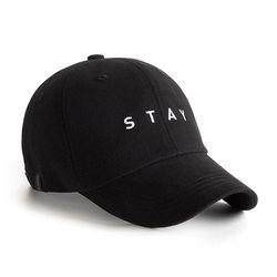 STAY W CAP BLACK